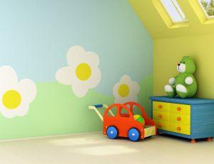 Mobilier pour une chambre de bébé