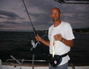 Haut de gamme obligatoire pour cette pêche