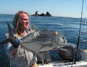 Capture de poissons très combatifs