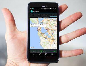 Nos smartphones peuvent aussi nous permettre d'anticiper un séisme - copyright MyShake