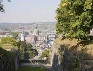 Vue de la ville de Namur, Belgique
