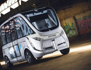 Le minibus Navya autonome et 100 % électrique bientôt à la vente
