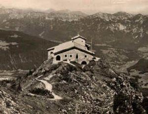 Le nid d'aigle d'Hitler en 1945