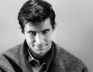 Norman Bates (Anthony Perkins) dans Psychose - copyright Shamley productions