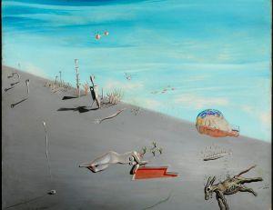 """Étude pour """"Le Miel est plus douce que la sang"""" [sic] © Salvador Dalí, Fundació Gala-Salvador Dalí / Adagp, Figueres, Paris 2012"""