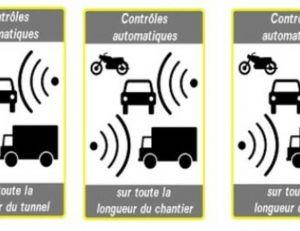 Aperçu des trois nouveaux panneaux du code la route - capture du Journal officiel