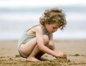 Occuper ses enfants à la plage