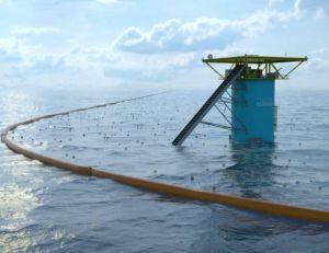 L'outil The Ocean Cleanup pourrait entrer en service dès 2016 - copyright The Ocean Cleanup