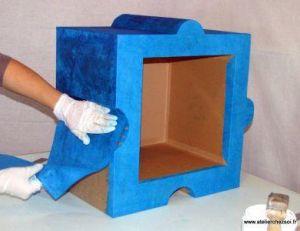 d corer un meuble avec du papier. Black Bedroom Furniture Sets. Home Design Ideas