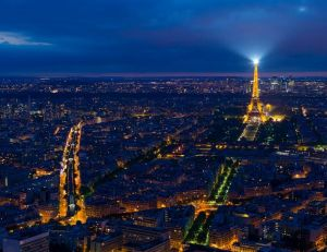 Vue de Paris la nuit - copyrightShepard4711