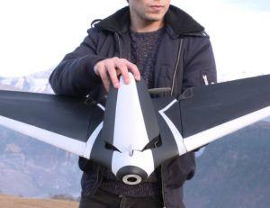 Aperçu du drone Disco développé par Parrot - copyright Parrot