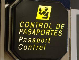 Le passage à la douane