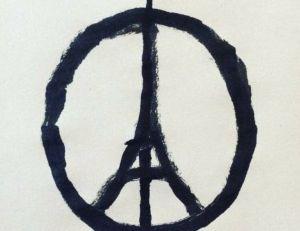 Dessin de Jean Julien devenu symbole de solidarité après les attentats du 13 novembre