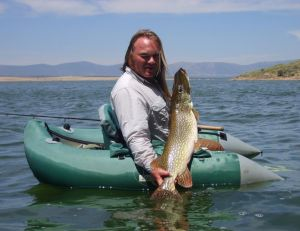 La pêche du brochet au leurre souple