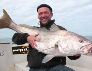 La pêche du maigre