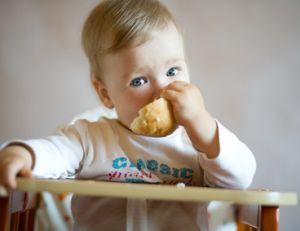 Petit déjeuner de bébé
