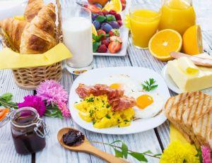 Un petit déjeuner complet !