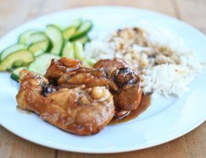 Pilons de poulet sauce teriyaki