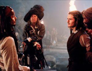 Pirates des Caraïbes : la Malédiction du Black Pearl © Walt Disney Pictures