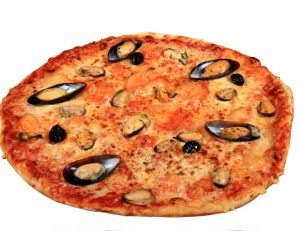 Pizza à la marinière