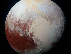 Pluton dans toute sa splendeur - © Nasa