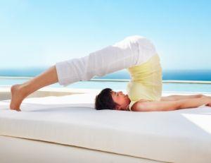 Postures de yoga : l'arc, la charrue, le cobra