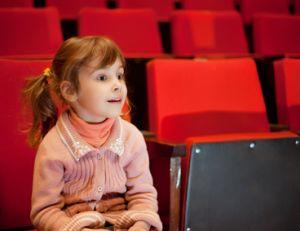 Première séance de ciné de votre enfant