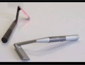 "Aperçu du rasoir laser ""Skarp"" présenté via KickStarter"