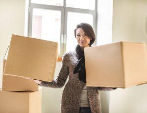 Faire un meuble en récupérant du carton