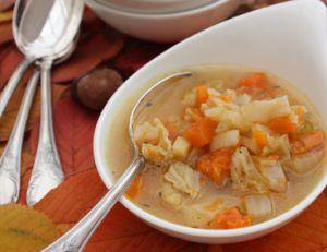 Suivre le régime soupe au chou