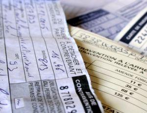 Règles pour payer une amende