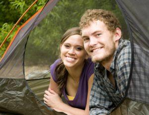 Faire des rencontres au camping