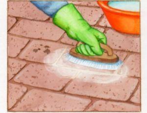 Nettoyer les dalles