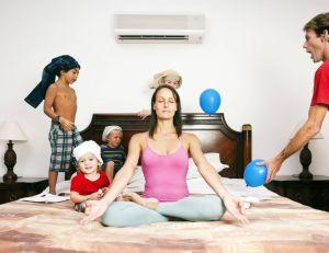 Pour rester en bonne santé, le principal est de rester zen et d'éviter le stress...