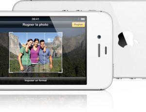 Réalisez des retouches depuis l'iPhone - Apple ©