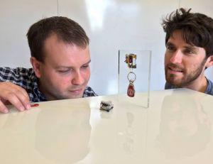 Aperçu des petits robots conçus par des chercheurs de l'Université de Stanford - copyright Stanford