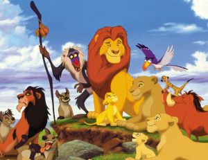 Le Roi Lion - © Walt Disney Productions