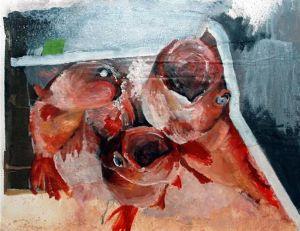 Rougets, tableau de Maurice Châtaigner