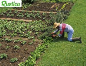 Pour jardiner, mettez des bottes et un chapeau !