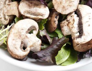 Recette de la salade de champignons de paris