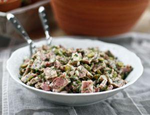 Recette de fromage de têteen salade