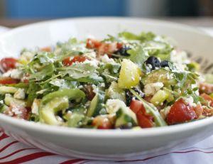 La salade grecque