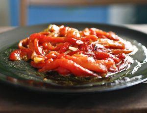 Recette de la salade de poivrons grillés