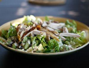Salade de poulet et d'avocat