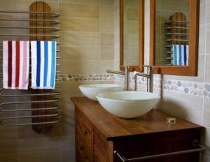 Décoration exotique pour la salle de bain