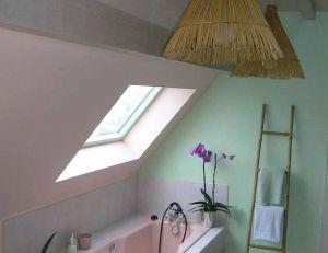 Salle de bain nature - une ambiance apaisante