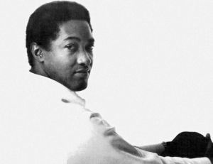Photo de Sam Cooke, jadis Une du magazine Billboard - Public domain