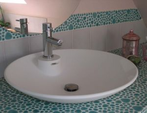 sanitaires : la vasque