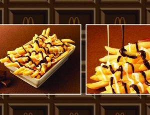 Bientôt une sauce au chocolat pour frites dans les McDo nippons...