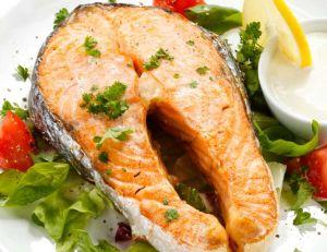 Darnes de saumon à la Nantua